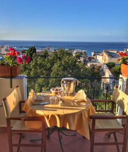 ristorante hotel la villarosa ischia